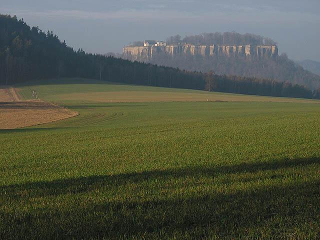 Blick zu Königstein
