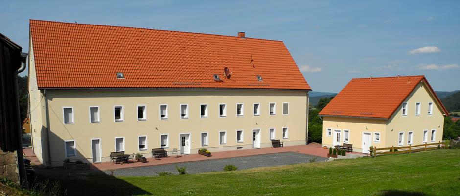 Landhaus Böhmer - Papstdorf, Ferienwohnung und Ferienhaus in der Sächsischen Schweiz