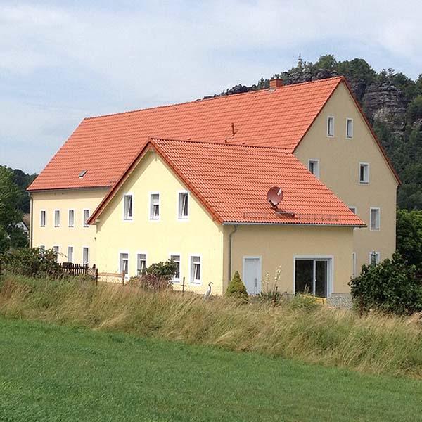 Landhaus Böhmer - Papstdorf - Ferienhaus Schrammsteinblick
